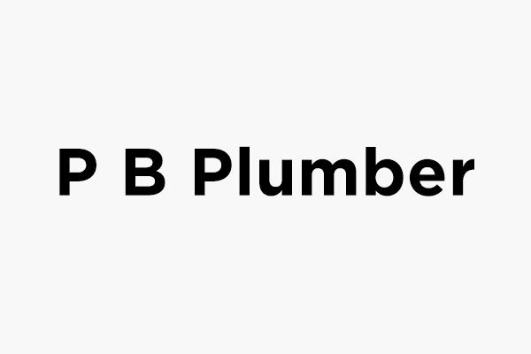 P B Plumber